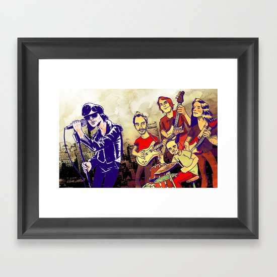 """Comedown Machine"" by Dmitri Jackson Framed Art Print"