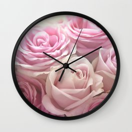You Make Me Blush Wall Clock