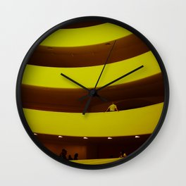 museum curves Wall Clock