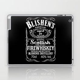 Blishen's Firewhiskey Laptop & iPad Skin