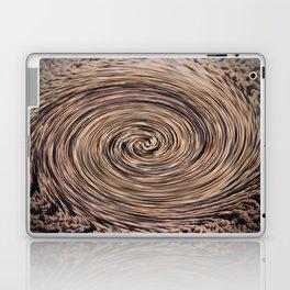 Swirling Sand Laptop & iPad Skin