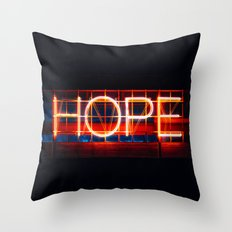 Hope. Throw Pillow