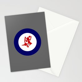 Silvereye Air Force Roundel Stationery Cards