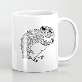 Hungry Hamster Eating A Seed Coffee Mug