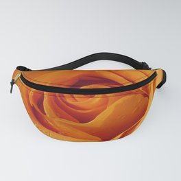 Gold Rose Bud- Orange Roses and flowers Fanny Pack