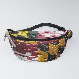 Flag of Maryland - Raindrops Fanny Pack