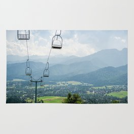 Mountain Cableway Rug