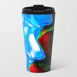 Contrasting Colors Travel Mug