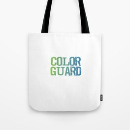 Spinning 6 Ft of Attitude Color Guard Pride T-Shirt Tote Bag