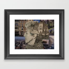 Return (You Are Here) Framed Art Print