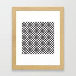 Metal Pattern Framed Art Print