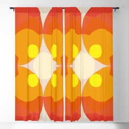 Princess Blosom  - Colorful Abstract Art Blackout Curtain