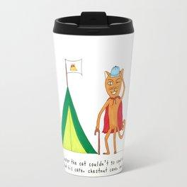 C Cooper the Cat Travel Mug