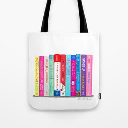 Romance Books Tote Bag