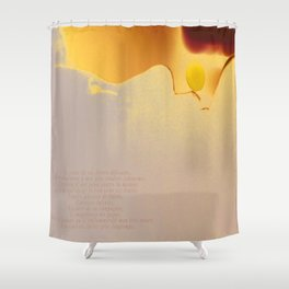 Douce nuit (sweet night) Shower Curtain