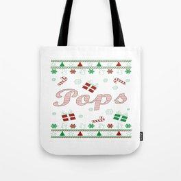 Pops Christmas Tote Bag