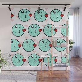 Love emoji Wall Mural