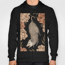 The Opossum and Peonies Hoody