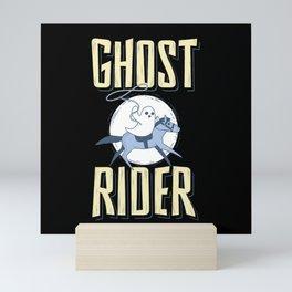 The Ghost Rider Mini Art Print