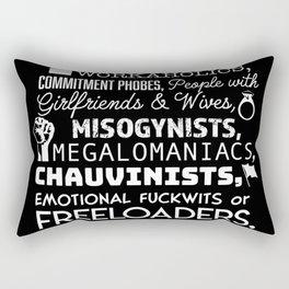 Bridget's advice Rectangular Pillow