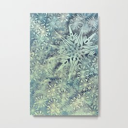 sea of flakes Metal Print
