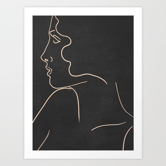 soigneuse Art Print