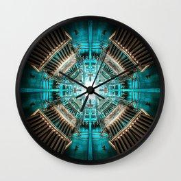 Rocket Propulsion Chamber Wall Clock
