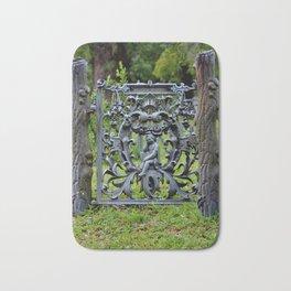 Lovely Cemetery Gate Bath Mat