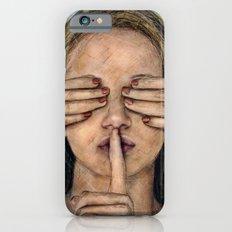 Silence in the Dark  Slim Case iPhone 6s