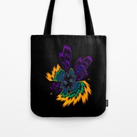 firefly Tote Bags featuring Firefly by Steve Purnell