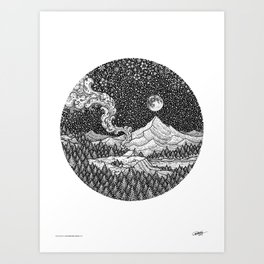AN ADVENTURER'S DREAM - Visothkakvei Art Print