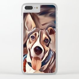 The Bandana Dog Clear iPhone Case