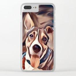The Bandana Dog Clear iPhone Case