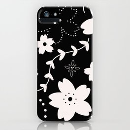 Dark Sakura 2018 iPhone Case