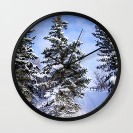 Happy Nature Wall Clock