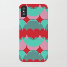 Abstract Popcorn Tub Slim Case iPhone X