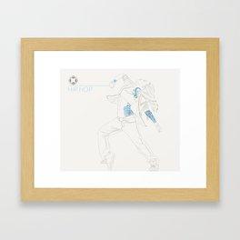 Hip Hop Tattoo Framed Art Print