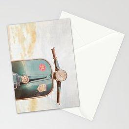 The Blue Vespa Stationery Cards