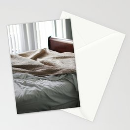 Messy Sheets at Condo in Navarre Beach, Florida Stationery Cards