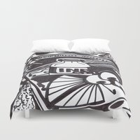 writer Duvet Covers featuring Food writer by ABBY SNATCH