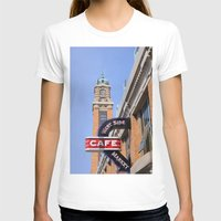 cleveland T-shirts featuring Cleveland West Side Market by TiffanyOneillPhotography