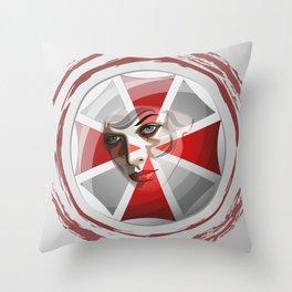 Umbrella Corp Throw Pillow