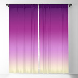 Plums with Cream Blackout Curtain
