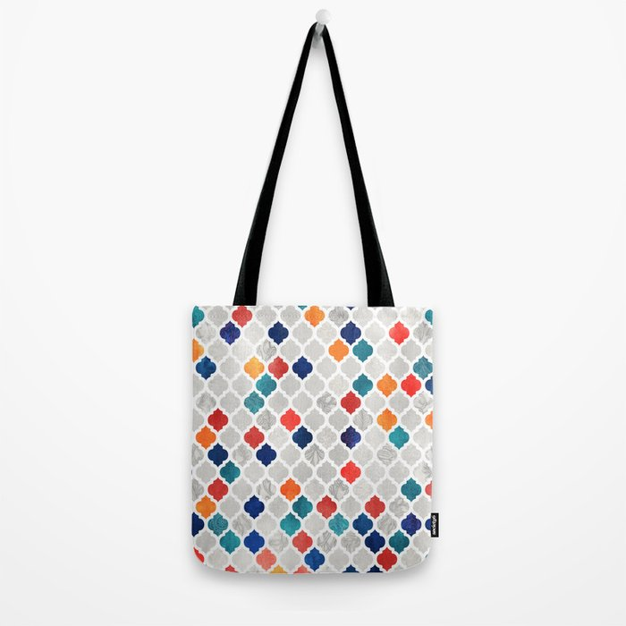 Sea & Spice Moroccan Pattern Tote Bag