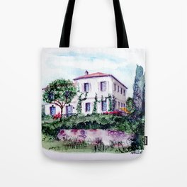 Saint Porchaire Country Home Tote Bag