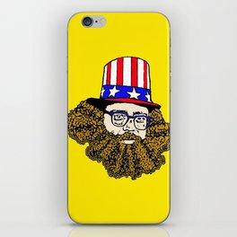Allen Ginsberg iPhone Skin