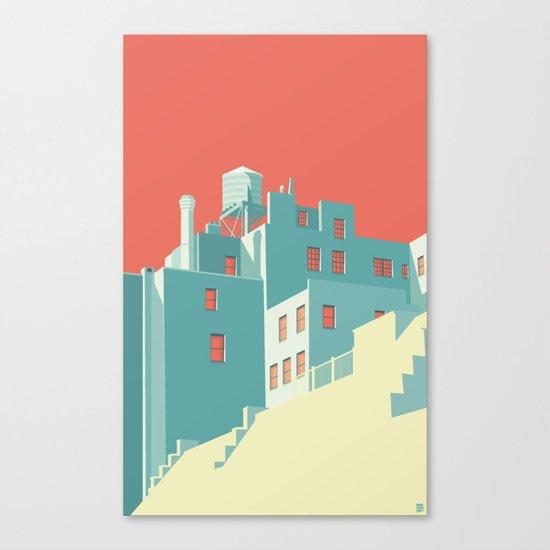 The Village NYC Canvas Print
