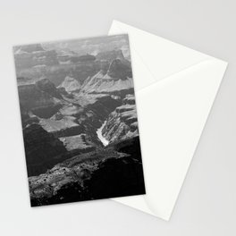 Grand Canyon Monochrome Stationery Cards