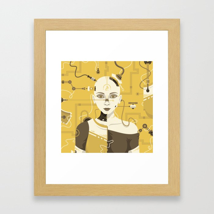 C-245 Framed Art Print