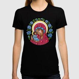 modern folk icon - Folk Madonna 3 T-shirt